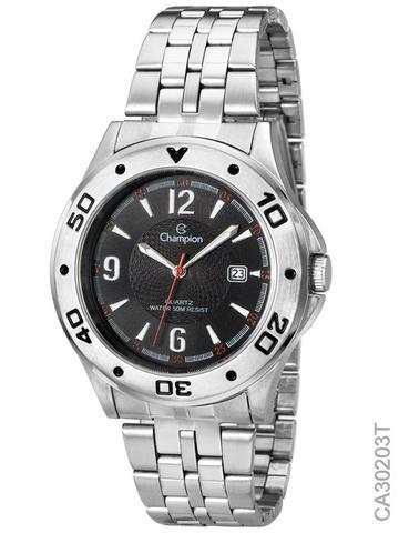 5b285e8489e Relógio Social Masculino Champion Ca30203t Prata - Relógio Masculino ...