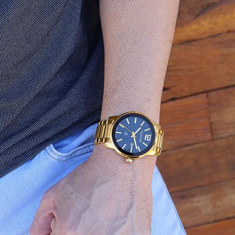 Imagem de Relógio Technos Masculino Analógico Dourado 2115tt/4p