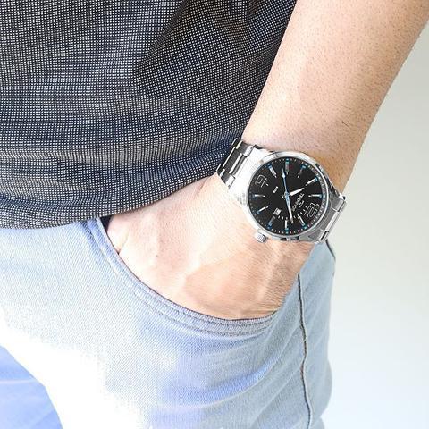 Imagem de Relógio Technos Masculino Analógico Prata 2115GU/1A