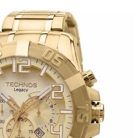 Imagem de Relógio Technos Masculino Legacy Dourado Os20ik/4x