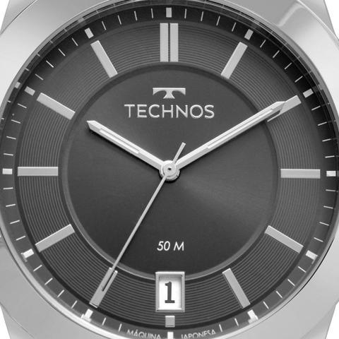 Imagem de Relógio Technos Masculino Prata Classic Steel 2415DG/1P
