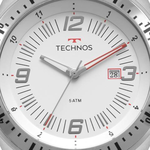 Imagem de Relógio Technos Masculino Prata Racer 2115MQP/1B