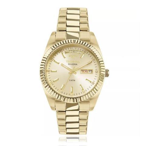 5d2bf4ea6bf56 Relógio Technos Riviera Automatic 8205OA 4X Dourado - Relógios e ...