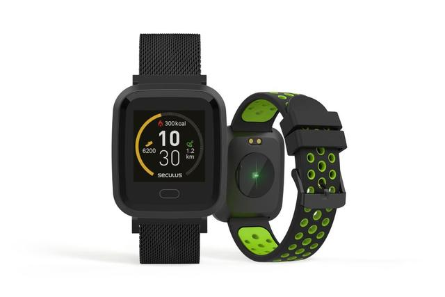 Imagem de Relógio Unissex Seculus Smartwatch 79006MPSVPE2 36mm Aço Preto