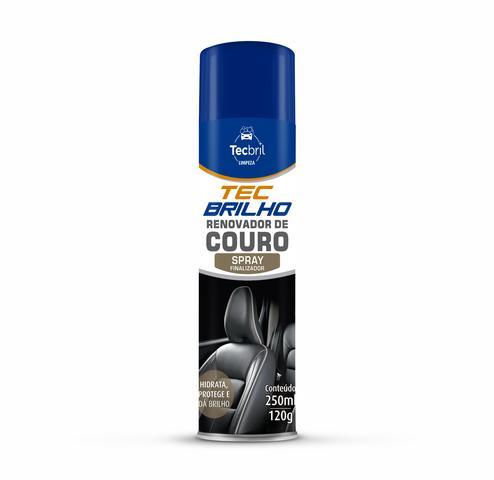 Imagem de Renovador de couro aerosol tecbril 250ml - tcb592.0227