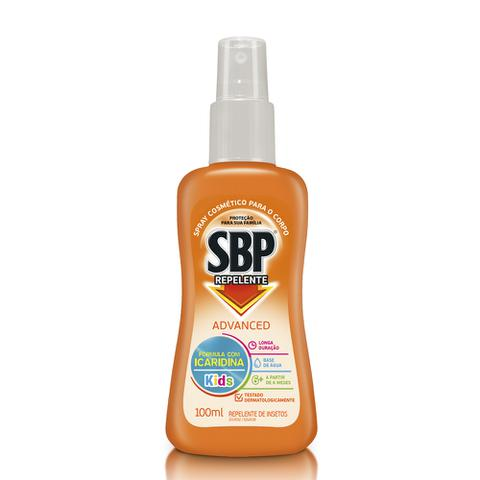 Imagem de Repelente SBP Advanced Spray Kids 100ml