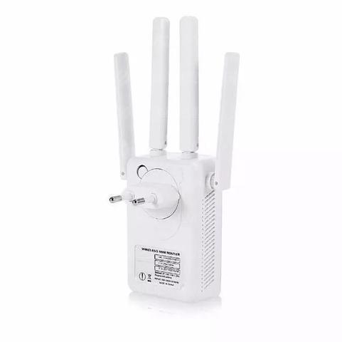Imagem de Repetidor Wifi 4 Antenas Amplificador De Sinal Pixlink 300m