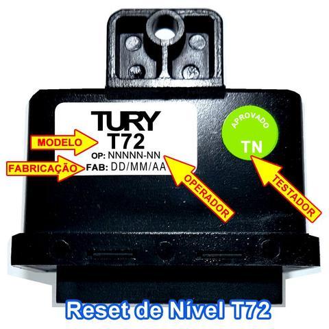 Imagem de Reset Nível Combustível T72 TURY GAS