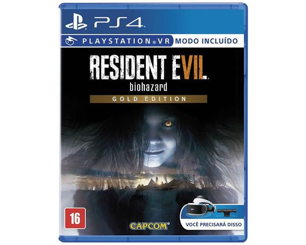 Imagem de Resident EVIL 7 GOLD Edition PS4 BR