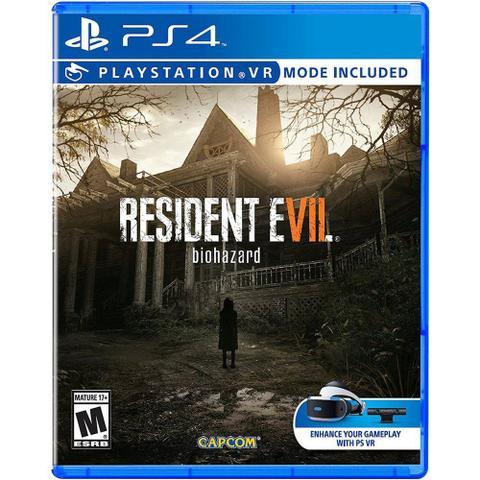 Imagem de Resident Evil 7 Ps4 com Modo Vr.