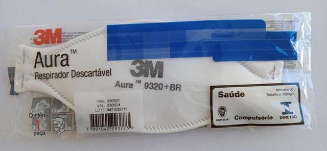 Imagem de Respirador Descartável 3M Aura 9320+BR