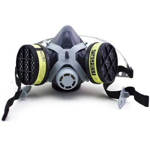 Imagem de Respirador Semifacial Alltec 1/4 com 2 filtros - COMPLETA
