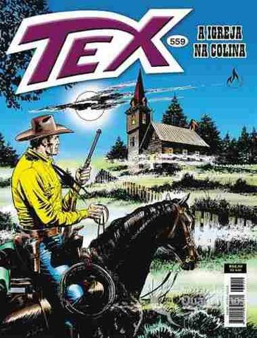 Imagem de Revista Hq Gibi - Tex Mensal 559 - A Igreja Na Colina