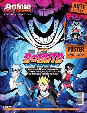 Imagem de Revista superpôster - Boruto