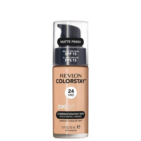 Imagem de Revlon ColorStay 24 Horas Pele Mista à Oleosa FPS15 200 Nude - Base Líquida 30ml
