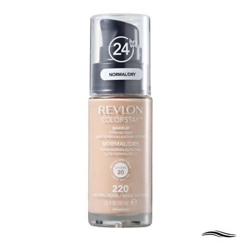 Imagem de Revlon Pump Colorstay Normal/Dry Skin Cor 220 Natural Beige - Base Líquida