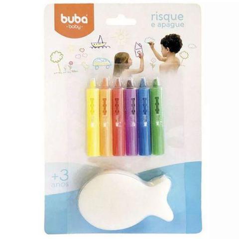 Imagem de Risque e Apague com Esponja - Buba - Buba Toys