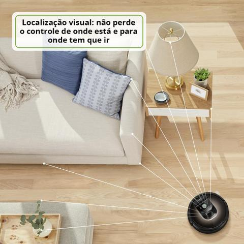 Imagem de Robô Aspirador de Pó Inteligente Roomba 980 iRobot