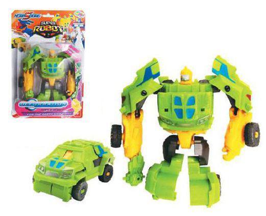 Imagem de Robô transforme carro hero squad deform