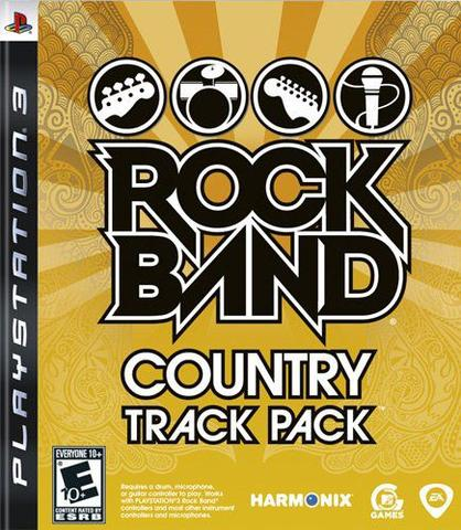 Jogo Rock Band Track Pack Country - Playstation 3 - Ea Games