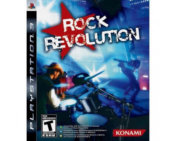 Jogo Rock Revolution - Playstation 3 - Konami