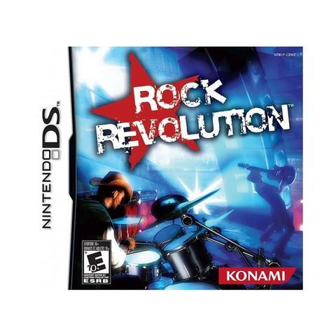 Jogo Rock Revolution - Nds - Konami