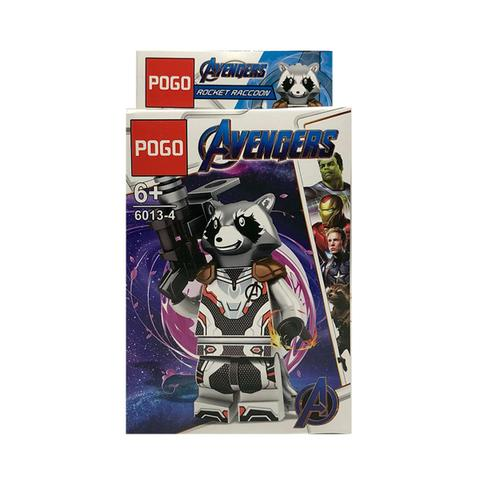 Imagem de Rocket Raccoon Vingadores Ultimato Marvel Blocos de Montar Boneco Minifigure PG-6013-4
