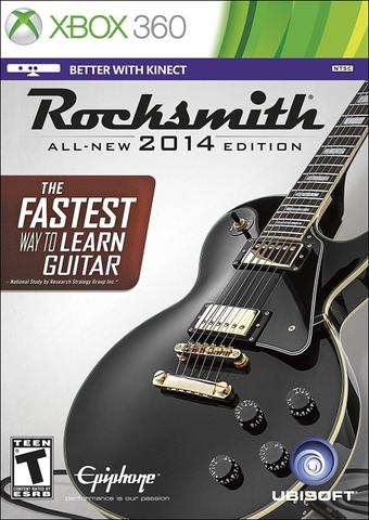 Imagem de Rocksmith All New 2014 Edition