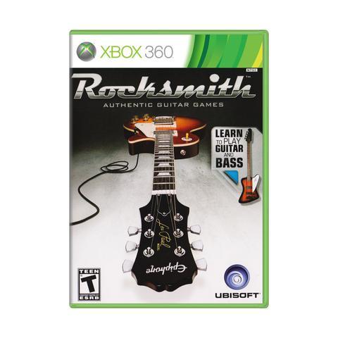Imagem de Rocksmith Guitar And Bass - Xbox 360