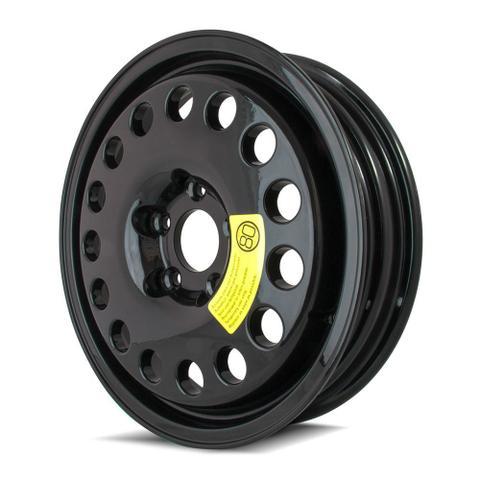 Imagem de Roda Aro 17x4 Black Estepe Mercedes/Vw 5x120 Black Et17 Krmai K58
