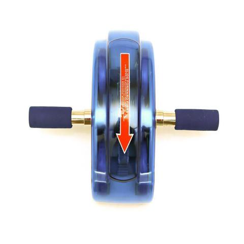 Imagem de Roda de Abdominal e Lombar com Retorno - WCT Fitness 4012