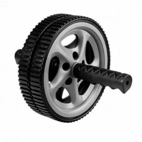 Imagem de Roda de Exercicios para Abdominais + Corda de Pular com Rolamento e Contador  Liveup