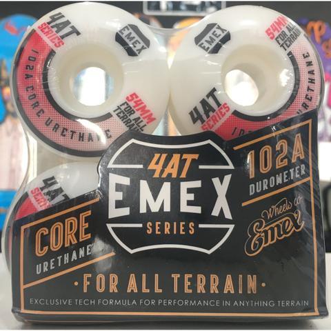 Imagem de Roda Emex 54mm 102A Red Dots Importada