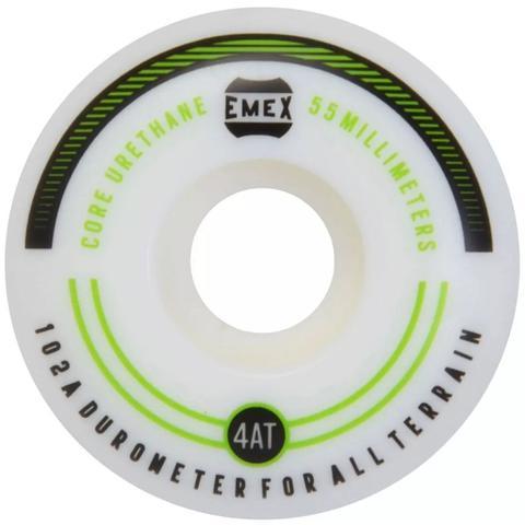 Imagem de Roda Emex 55mm 102A Green Lines Importada