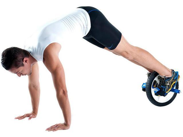 Imagem de Roda para Exercícios Abdominais Kikos
