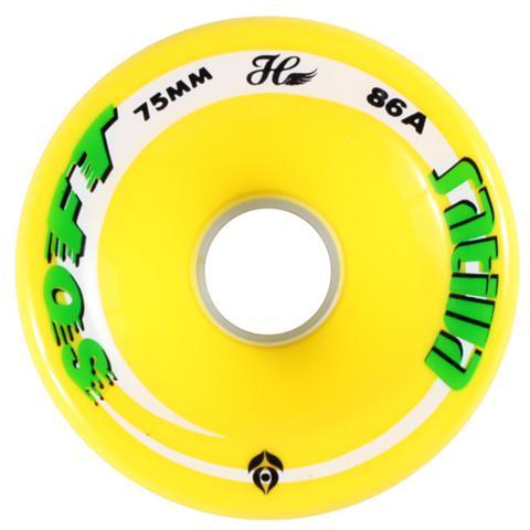 Imagem de Roda Sativa Longboard 75mm 86A Yellow