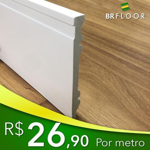Imagem de Rodapé Aqua 15cm Frisado - Barra com 2,25m (BR150)