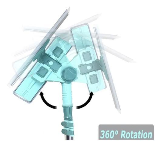 Imagem de Rodo articulado Limpa Vidros Janelas Telescopico Mop