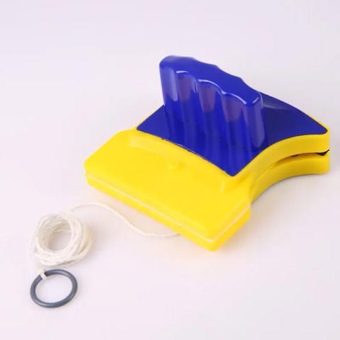 Imagem de Rodo Limpa Vidros Janelas Magnético Imã Prático