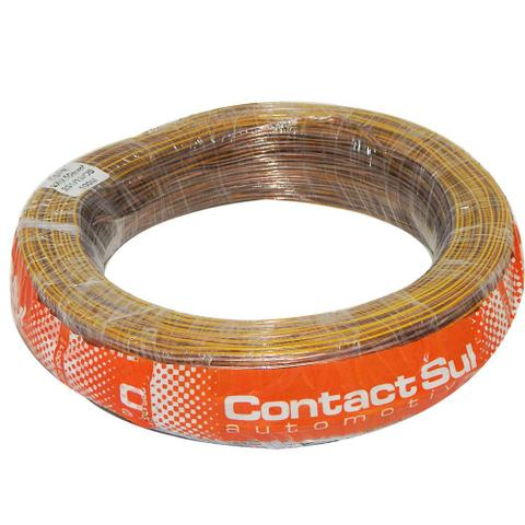 Imagem de Rolo 100m Fio Paralelo Som Contactsul 2x0,50 Mm / 2x0.50mm