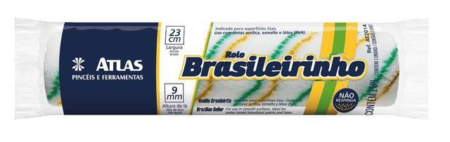 Imagem de Rolo Anti-Respingo Brasileirinho 23 cm Atlas Sem Cabo
