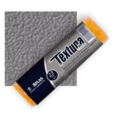 Imagem de Rolo de Espuma Efeito Textura Média/Chapisco 23cm 110/65 - Atlas
