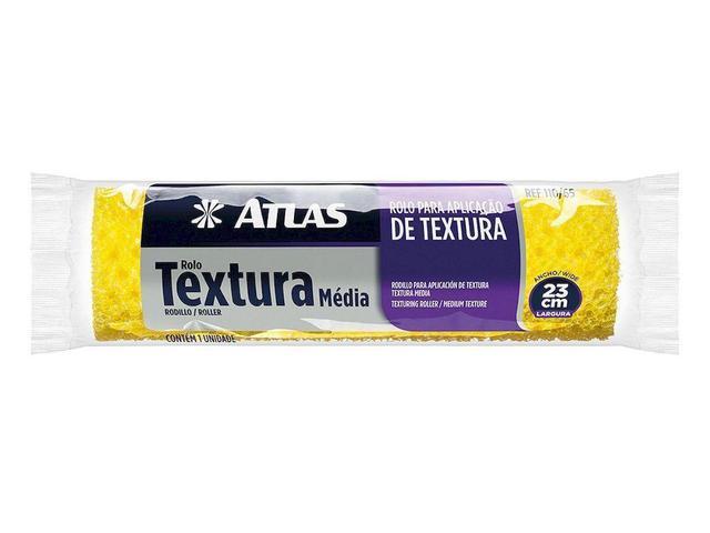 Imagem de Rolo De Textura Média 23cm 110/65 Atlas