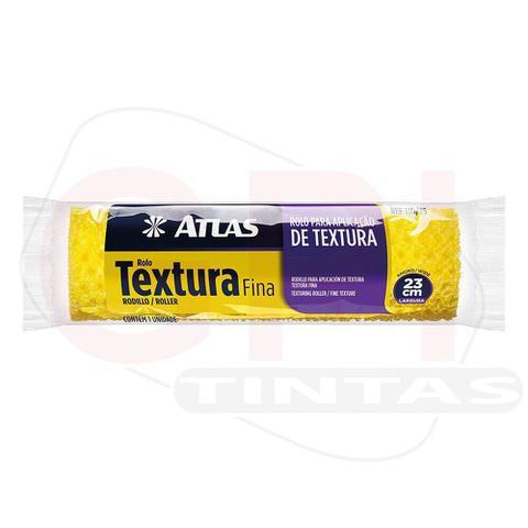 Imagem de Rolo Para Textura Média Sem Suporte 23cm - 110/65 - Atlas