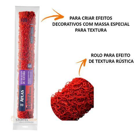 Imagem de Rolo Textura Rustica Cabelo De Anjo Big 37cm Atlas Premium
