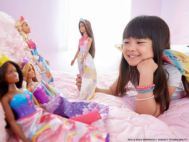 Imagem de Rosa Princesa Dreamtopia Barbie - Mattel FJC96