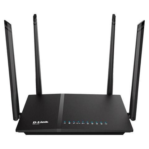 Imagem de Roteador Wifi D-Link AC 1200Mbps Dual Band 4 Antenas 5 Dbi Gigabit 10/100/1000 IPv6 WPS - DIR-825