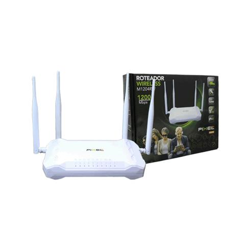 Imagem de Roteador Wireless 1200Mbps - Pixel TI - M1204RW