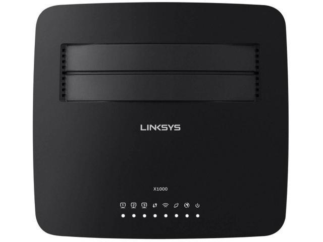 Imagem de Roteador Wireless Linksys X1000