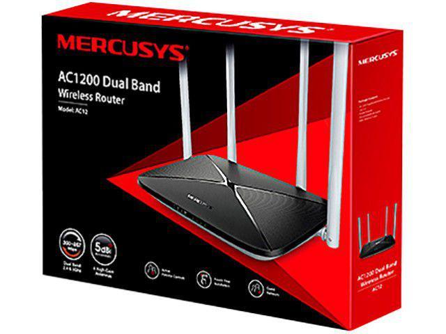 Imagem de Roteador Wireless Mercusys AC12 1200mbps